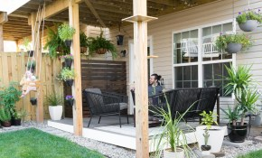 Tiny Backyard Ideas An Update On My Tiny Backyard Garden pertaining to 13 Smart Concepts of How to Improve Small Backyard Landscaping