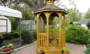 Very Small Outdoor Gazebo Gazebo Ideas Small Garden Gazebo pertaining to 13 Awesome Concepts of How to Build Gazebo Ideas For Backyard