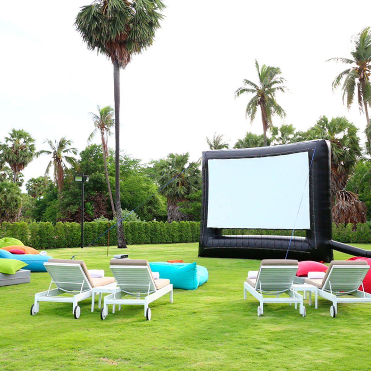 What You Need For A Diy Backyard Movie Theater The Family pertaining to Backyard Movie Ideas