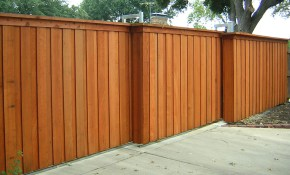 Wood Fence Designs Outdoor Outdoor Decorations Simple intended for Backyard Wood Fence Ideas