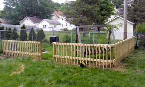 Wood Fence Ideas For Backyard Colors For Your Home Diy in Backyard Wood Fence Ideas