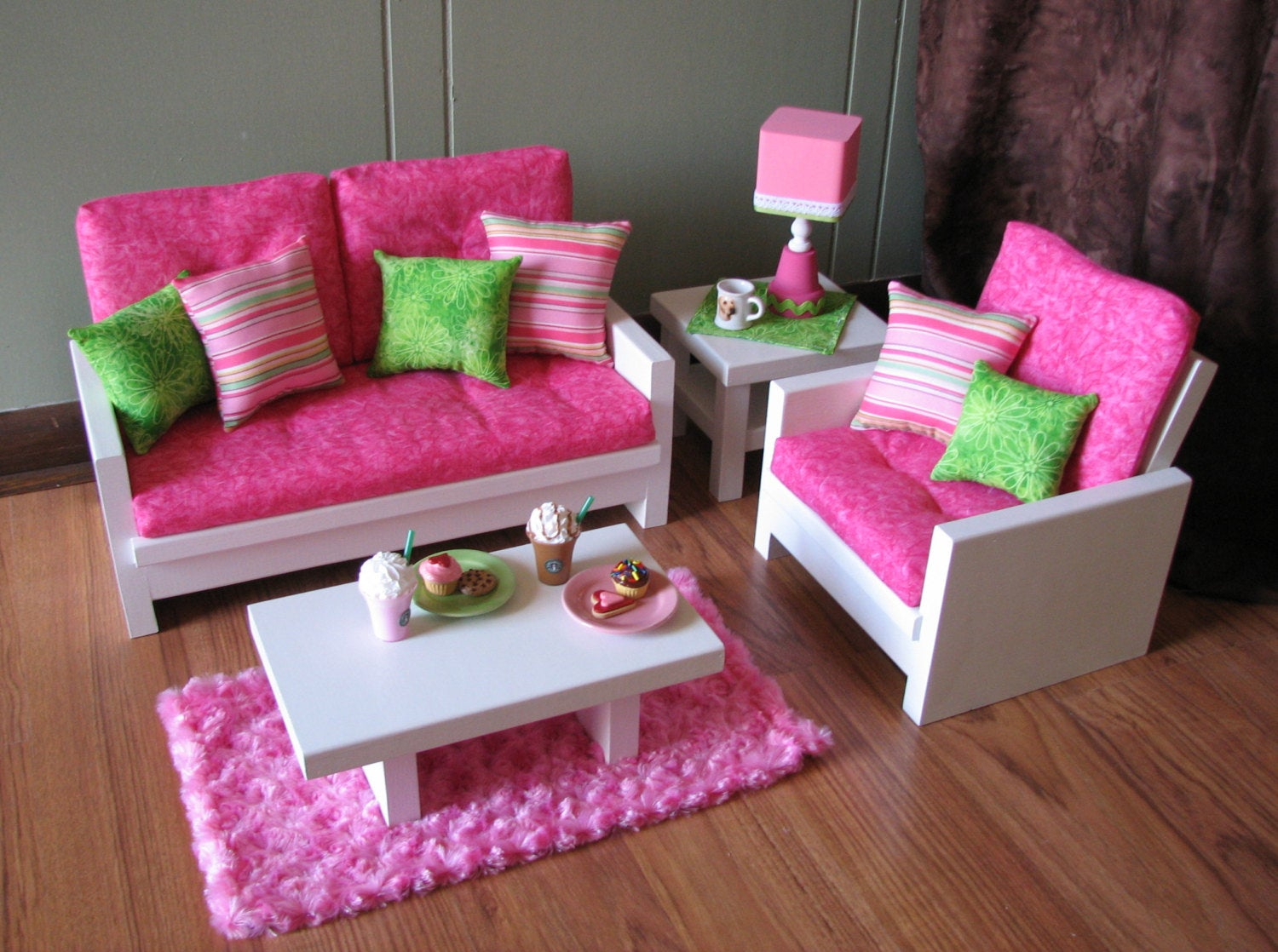 12 Ideas For Living Room Furniture For 18 Inch Dolls Floor regarding 14 Genius Tricks of How to Build 18 Inch Doll Living Room Set
