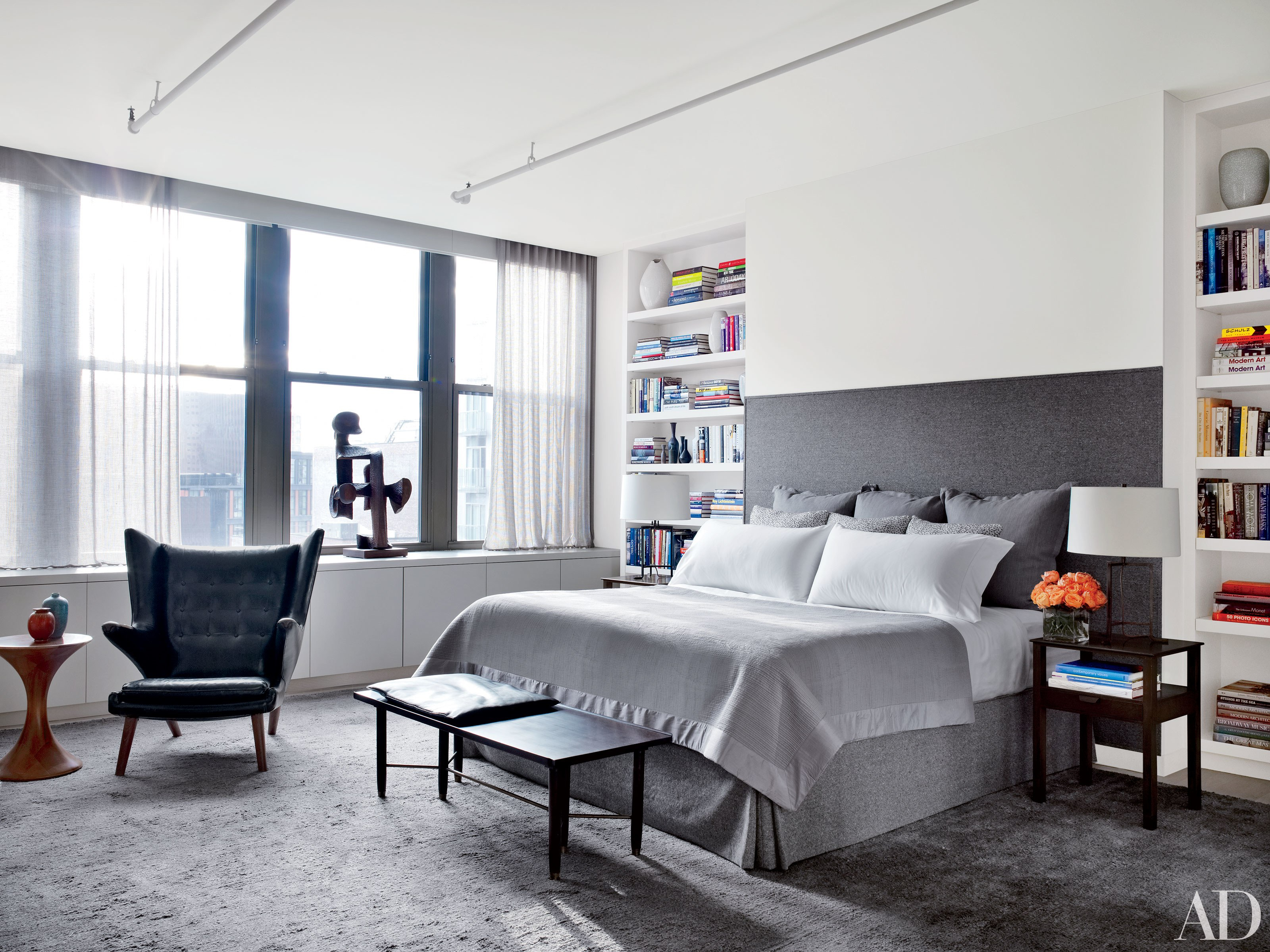 24 Contemporary Bedrooms With Sleek And Serene Style with 13 Clever Concepts of How to Make Modern Bedroom Pictures