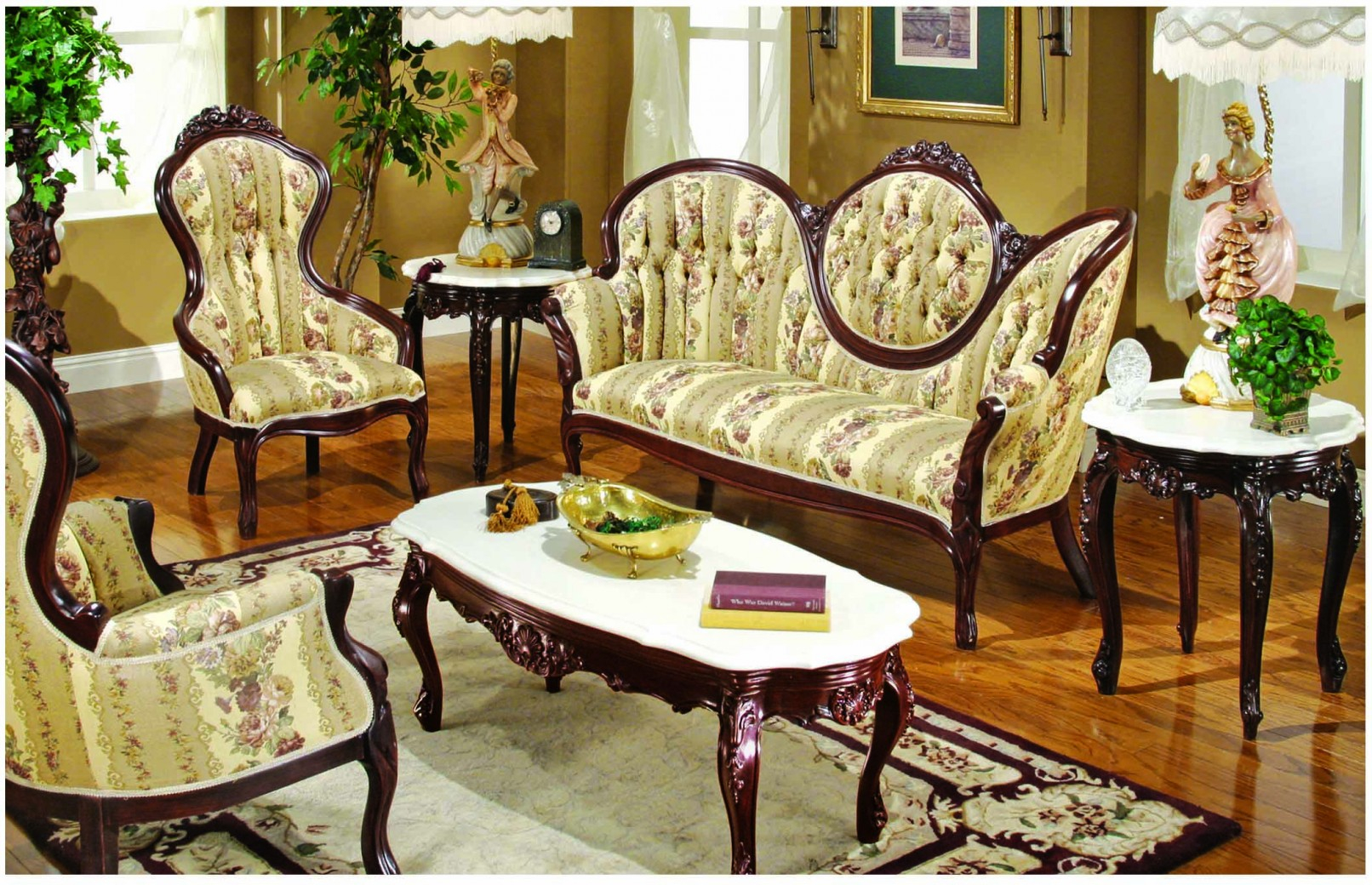 605 Aj Floral Fabric Polrey French Provincial Style Living Room Set for 13 Clever Designs of How to Makeover French Provincial Living Room Set