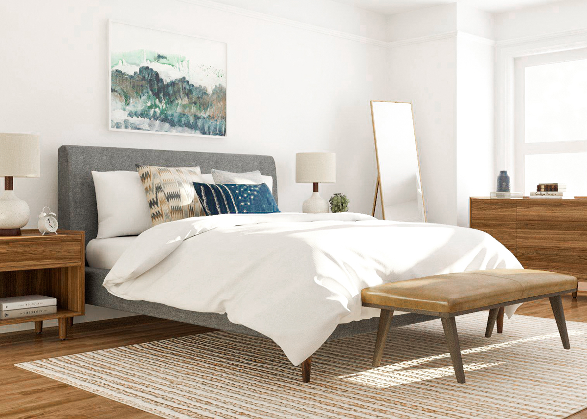 7 Mid Century Modern Bedroom Ideas To Try In Your Space with regard to Modern Bedroom Pictures