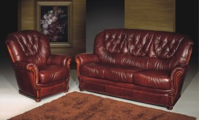 A61 Full Leather Living Room Set for Full Living Room Sets