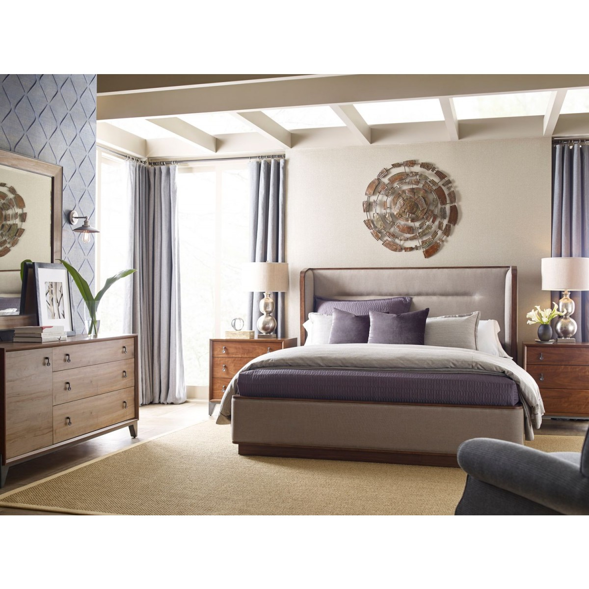 American Drew Ad Modern Synergy Astro Upholstered King Bedroom Set with 15 Genius Tricks of How to Craft King Bedroom Sets Modern