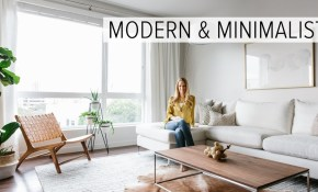 Apartment Tour My Modern Minimalist Living Room Tour regarding Apartment Living Room Setup