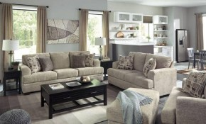 Ashley Barrish 4 Piece Living Room Set In Sisal 48501 38 35 intended for Living Room Sets Online