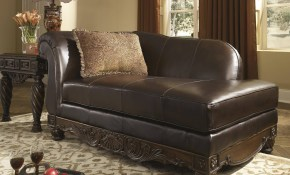 Ashley North Shore Durablend Living Room Set 3pcs Dark Brown inside North Shore Leather Living Room Set