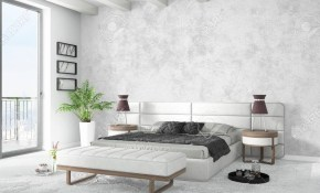 Beautiful Modern Bedroom Interior With Empty Wall 3d Rendering inside 15 Some of the Coolest Designs of How to Improve Beautiful Modern Bedrooms