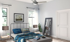 Bedroom Ceiling Fan Ideas To Transform Your Space Hunter with regard to Modern Bedroom Ceiling Fans