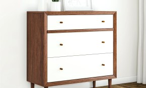 Bedroom Design Mid Century Modern White And Walnut Wood pertaining to 15 Some of the Coolest Ideas How to Make Modern Bedroom Dressers