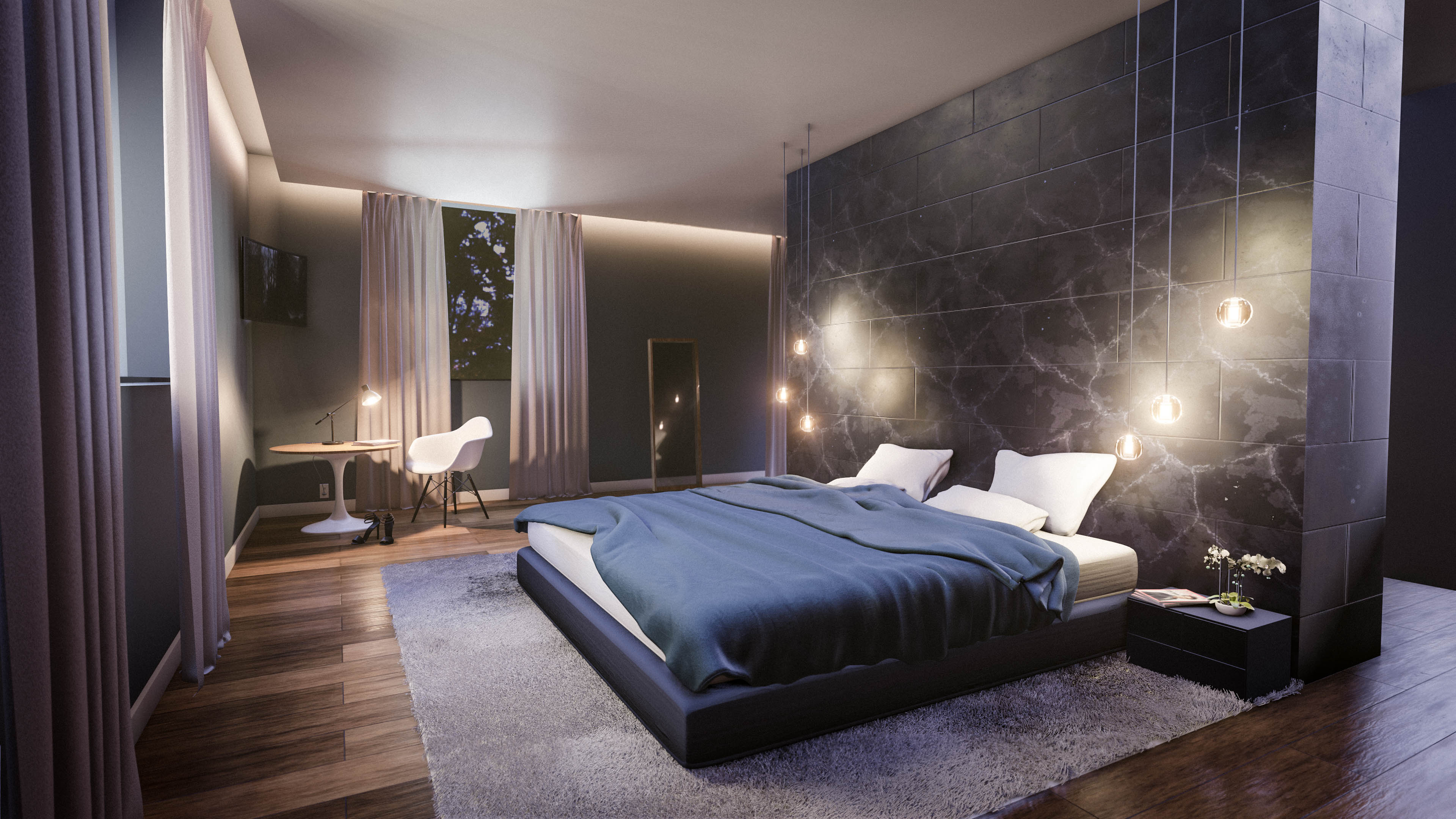 Create A Modern Bedroom Interior In Blender In 35 Minutes pertaining to 13 Clever Concepts of How to Make Modern Bedroom Pictures