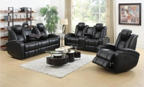 Denatali 3 Piece Black Living Room Set inside 13 Clever Tricks of How to Improve Black Living Room Sets