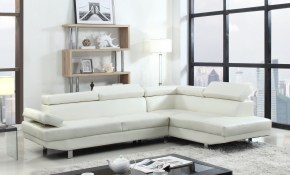 Details About Modern Contemporary White Faux Leather Sectional Sofa Living Room Set for 12 Clever Designs of How to Improve White Leather Living Room Sets