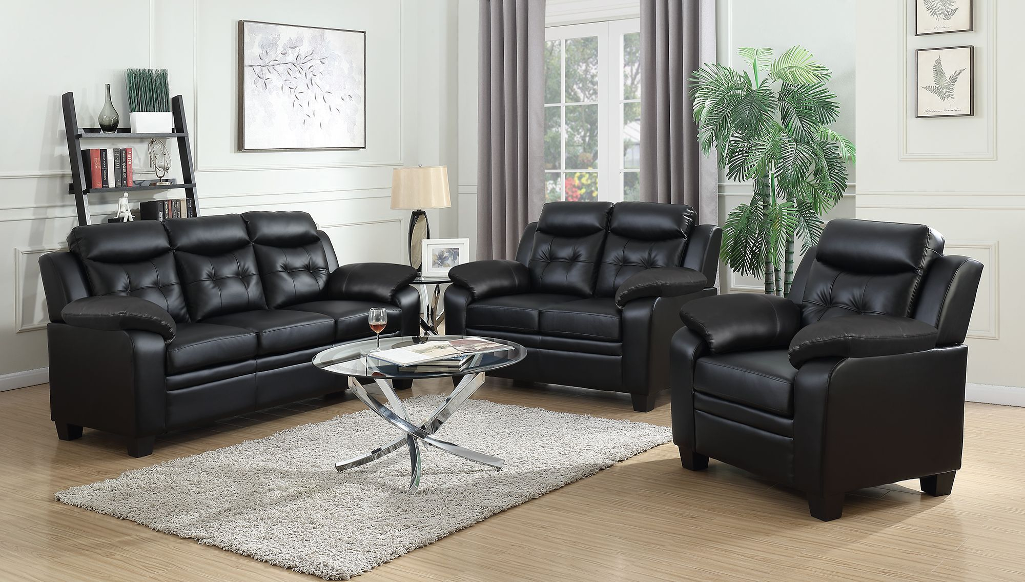 Finley Black Living Room Set within 13 Clever Tricks of How to Improve Black Living Room Sets