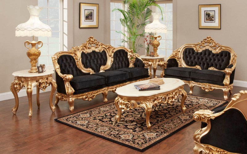 French Gold Leaf Living Room Set in 12 Smart Initiatives of How to Make French Living Room Set