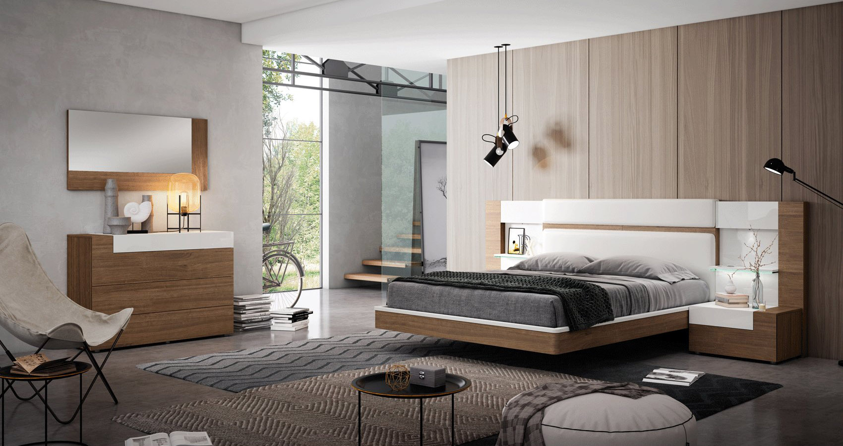 Graceful Wood Elite Modern Bedroom Sets with 10 Awesome Initiatives of How to Makeover Bedroom Sets Modern