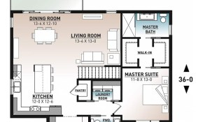 House Plan Oxford No 3297 inside 13 Smart Tricks of How to Improve Modern One Bedroom House Plans
