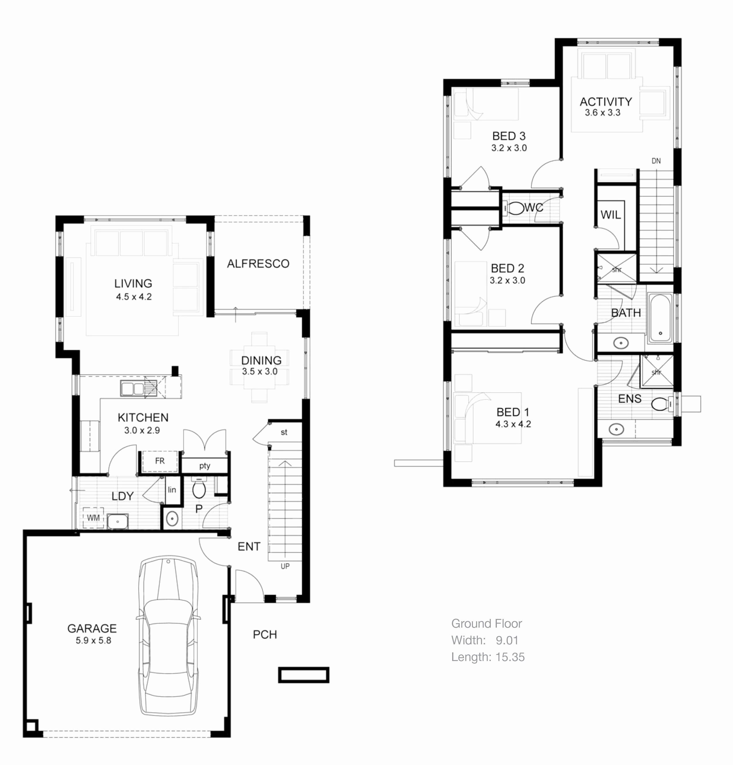 House Plans New Small Bedroom Floor Modern Retirement Tiny intended for 11 Some of the Coolest Ideas How to Make Modern 2 Bedroom House Plans