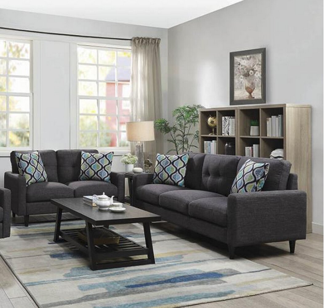 Lainey 2 Piece Living Room Set inside Living Room Sets For Small Spaces