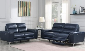 Largo Power Reclining Living Room Set Ink Blue inside 13 Awesome Designs of How to Improve Power Reclining Living Room Set