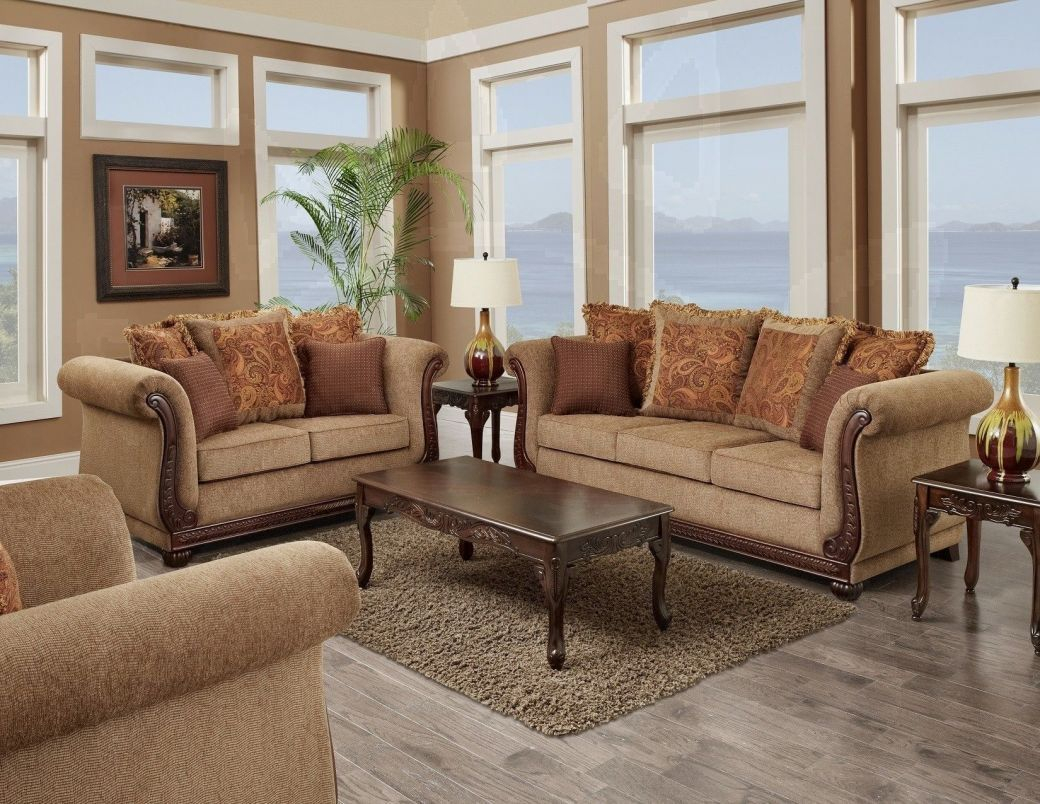 Living Room Set 3 Pc Balmoral Brown with regard to 12 Awesome Concepts of How to Improve Living Room Set 3 Piece