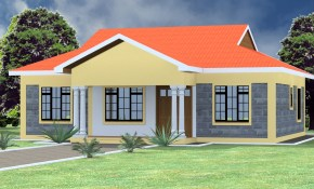 Low Budget Modern 3 Bedroom House Design Hpd Consult pertaining to Modern 3 Bedroom House Plans