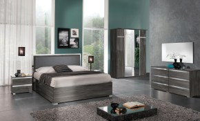 Made In Italy Leather Contemporary Platform Bedroom Sets intended for Italian Modern Bedroom Sets