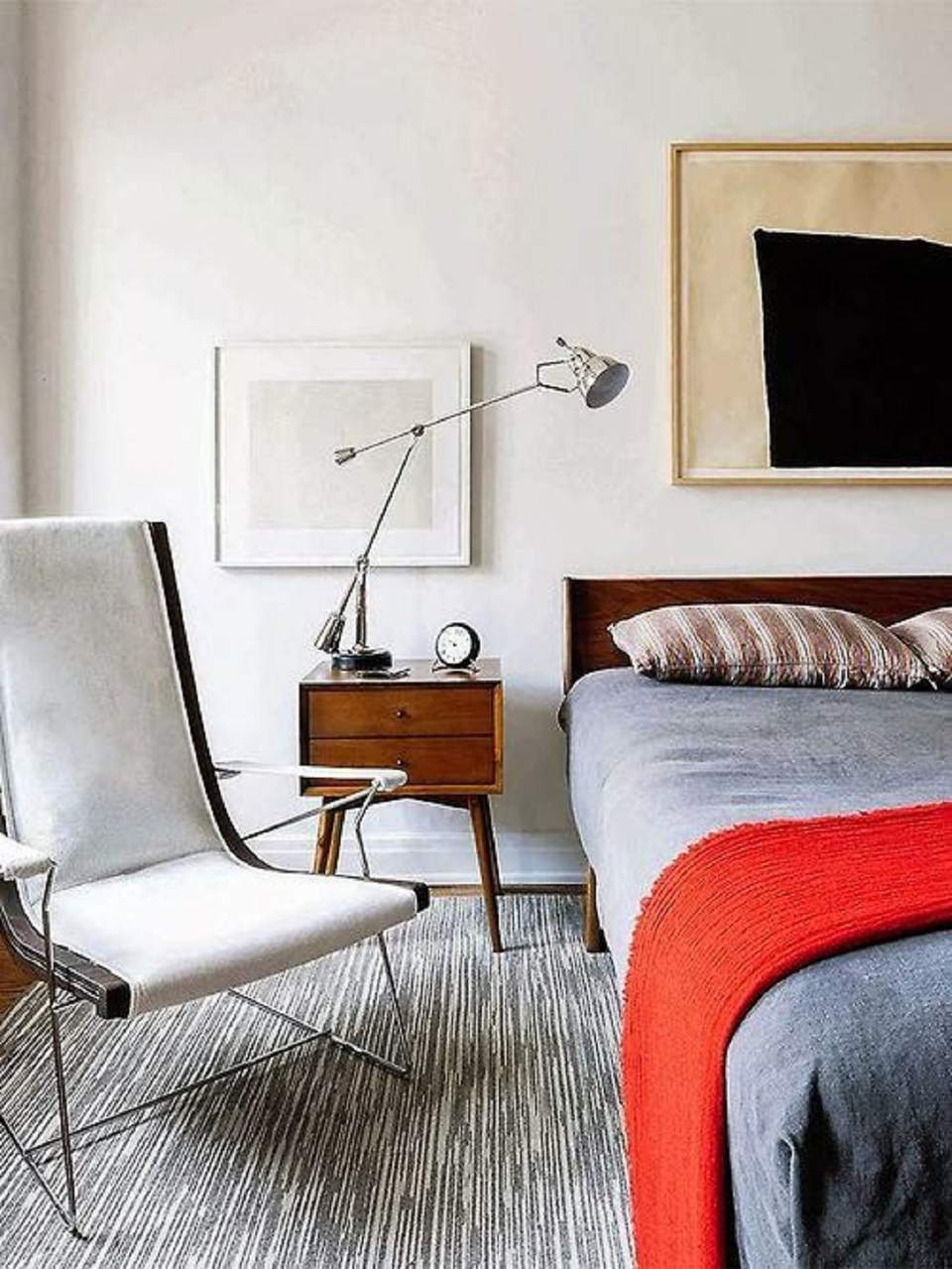 Mid Century Modern Bedroom Decorating Ideas throughout 15 Awesome Ideas How to Make Mid Century Modern Bedroom