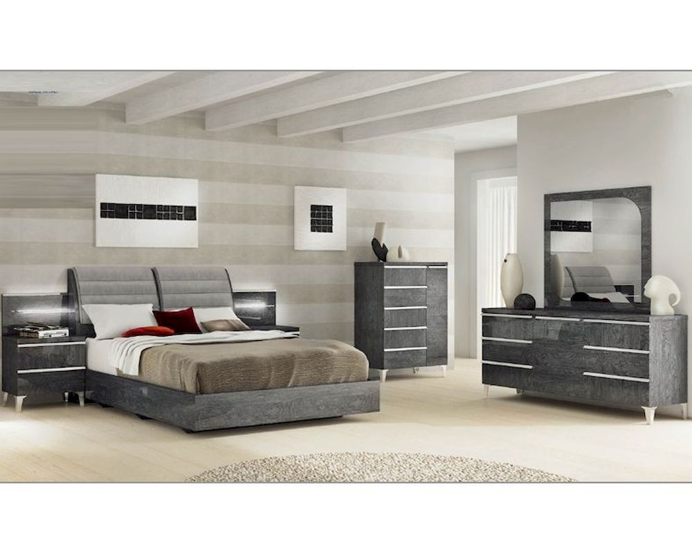 Modern Italian Bedroom Set Elite 3313ei throughout 10 Smart Concepts of How to Make Modern Bedroom Sets King