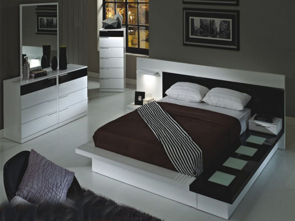 Modern King Size Bedroom Sets Ideas Andre Charland Home with 15 Genius Tricks of How to Craft King Bedroom Sets Modern