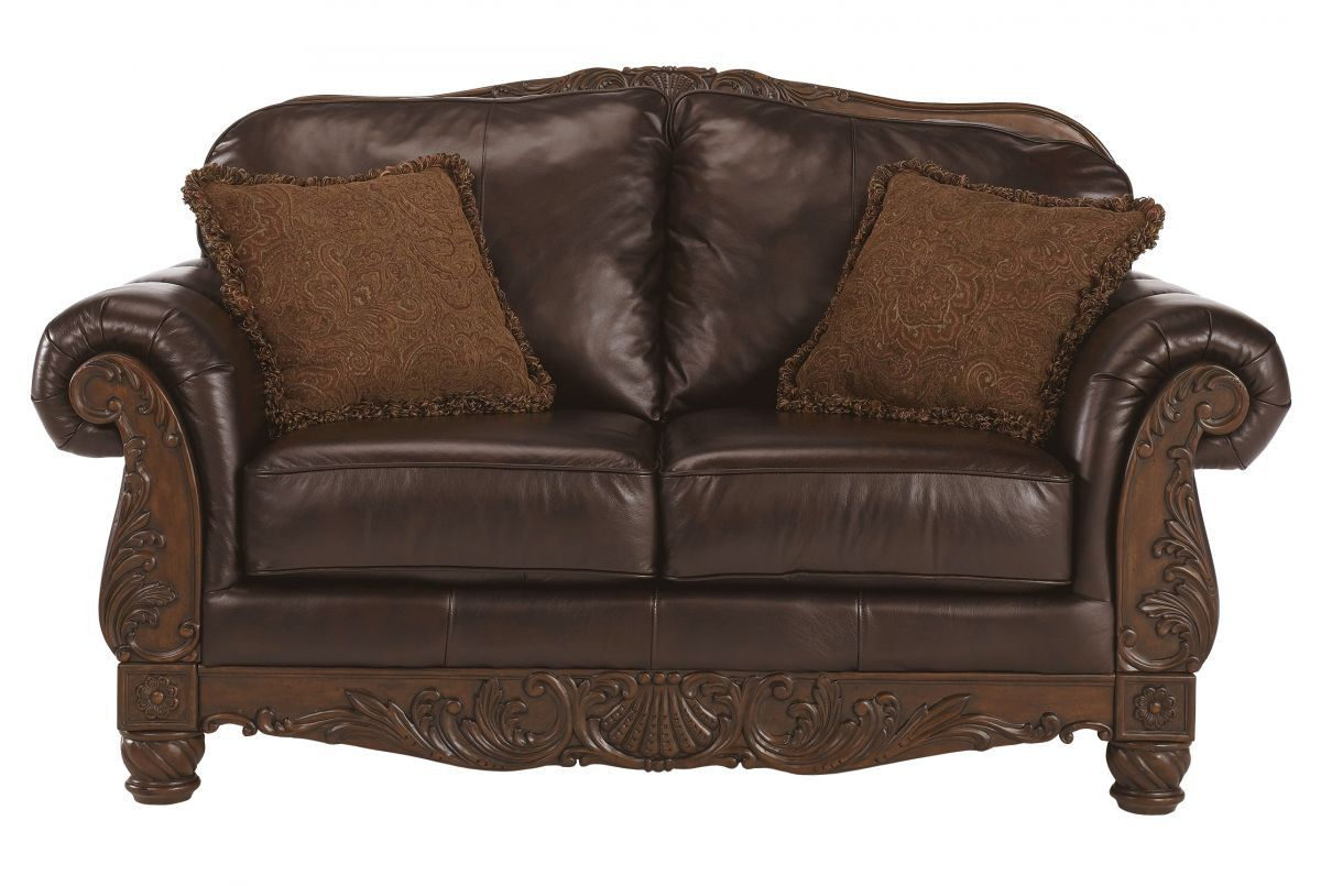 North Shore Loveseat Products with regard to North Shore Leather Living Room Set