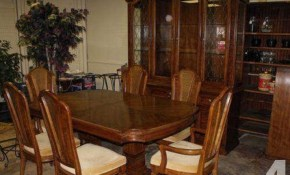 Pecan Dining Room Furniture Thomasville Dining Room Set For within Thomasville Living Room Sets