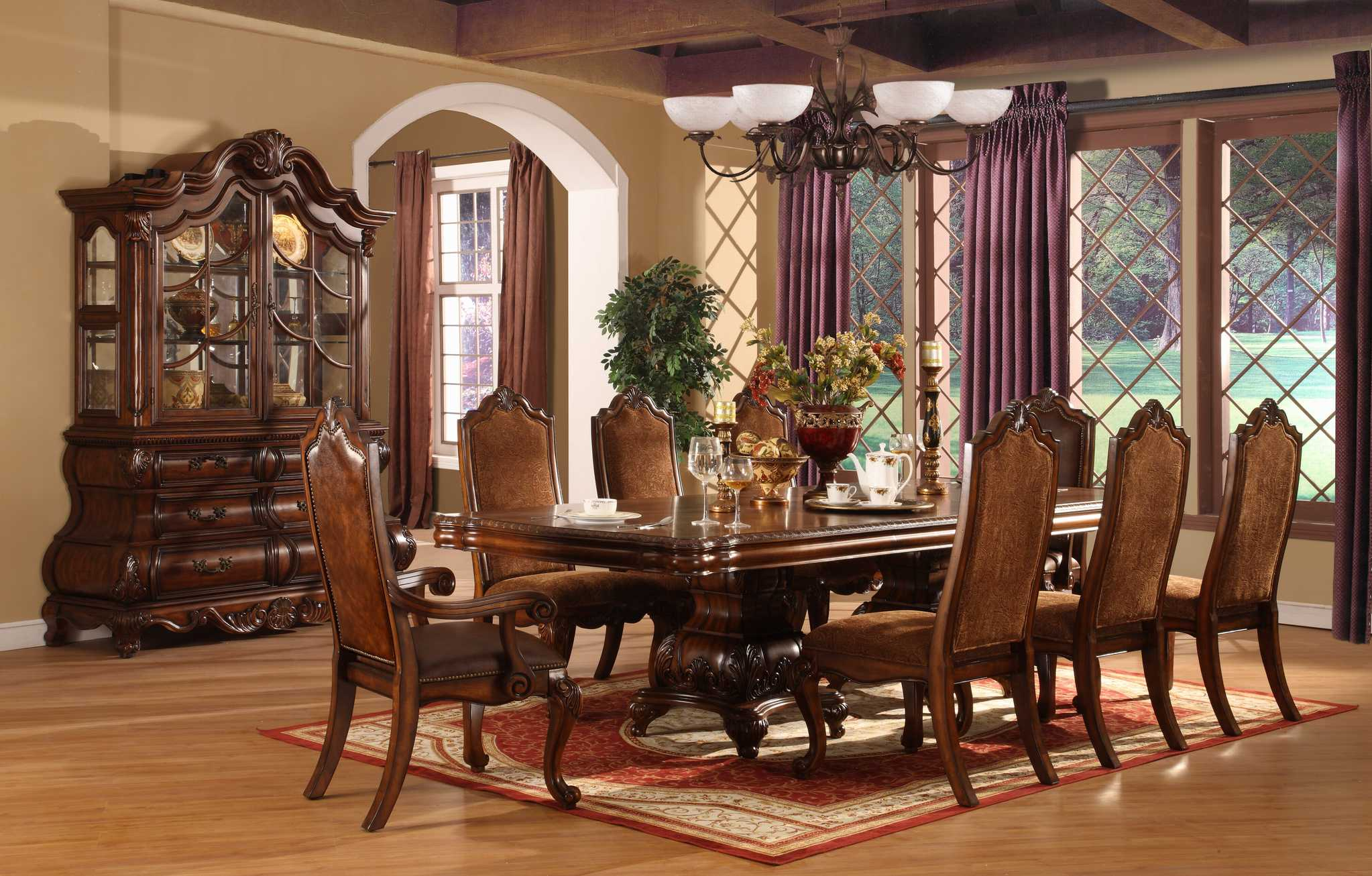 Perfect Formal Dining Room Sets For 8 Homesfeed throughout Formal Luxury Living Room Sets