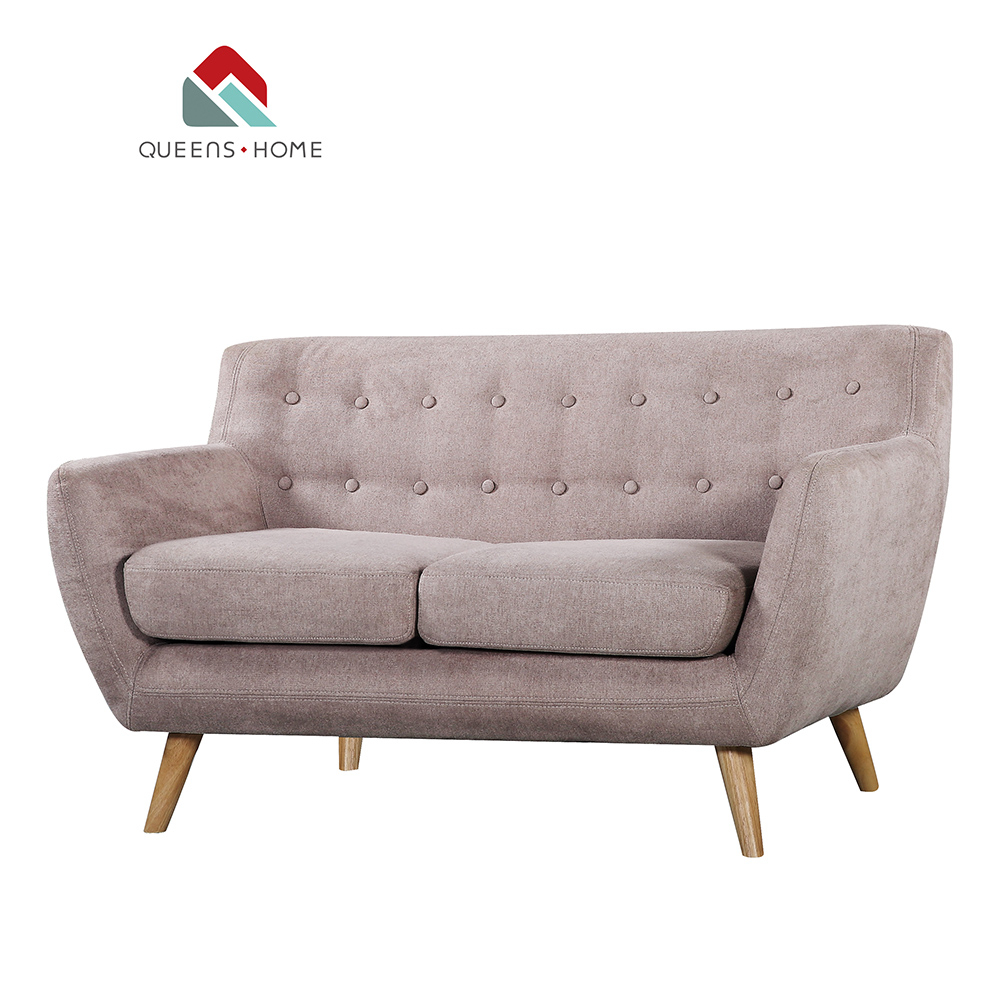 Queenshome Accent Loveseat Decor Retro Style Contemporary Sofa Set Design Rooms To Go Living Room Sets Fabric Grey 2 Seater Sofa Buy Classic within Living Rooms Sets For Cheap