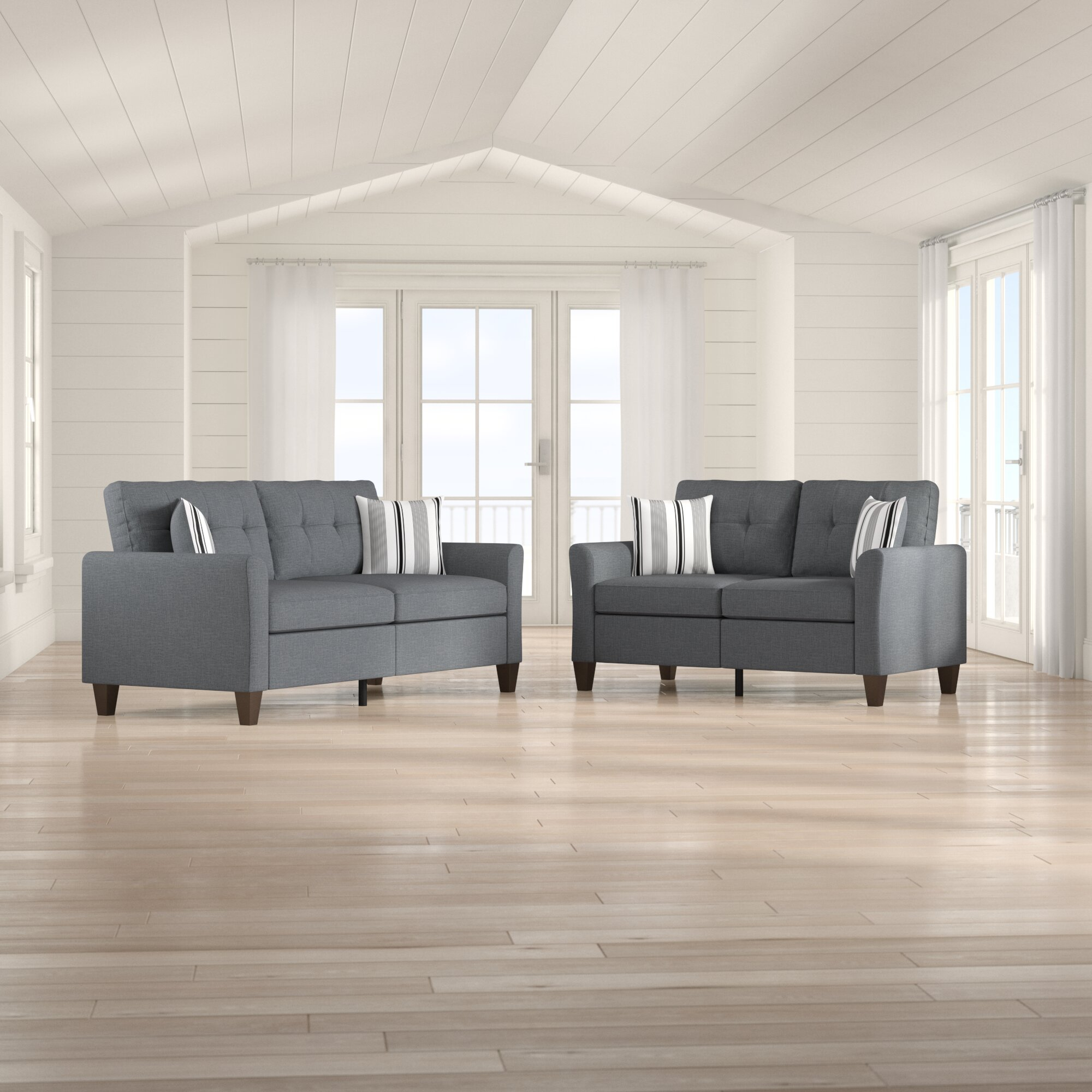 Ranstead 2 Piece Living Room Set intended for Whole Living Room Sets
