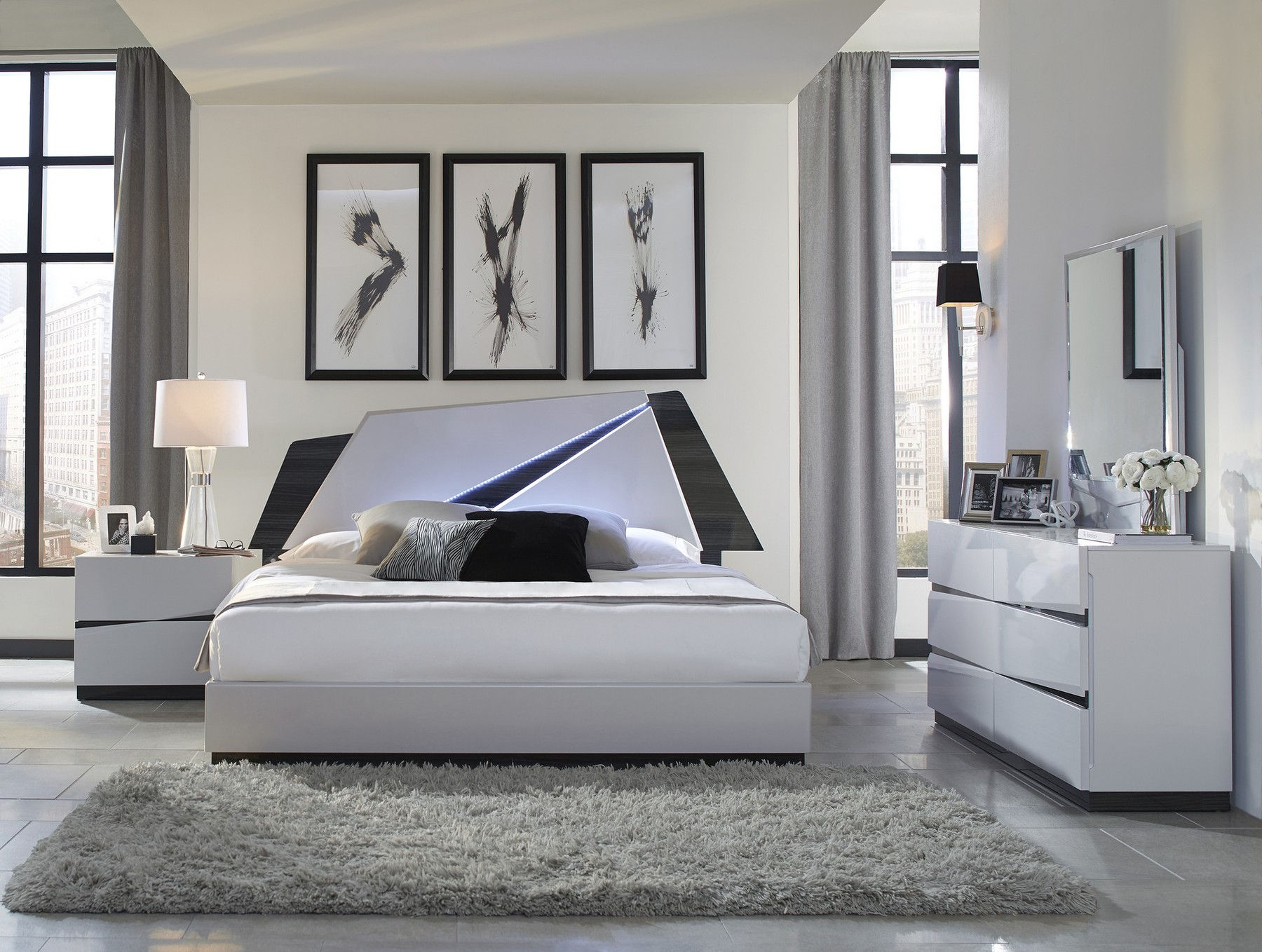 Scarlett Queen Size Bed inside 14 Some of the Coolest Ways How to Craft Sexy Modern Bedroom