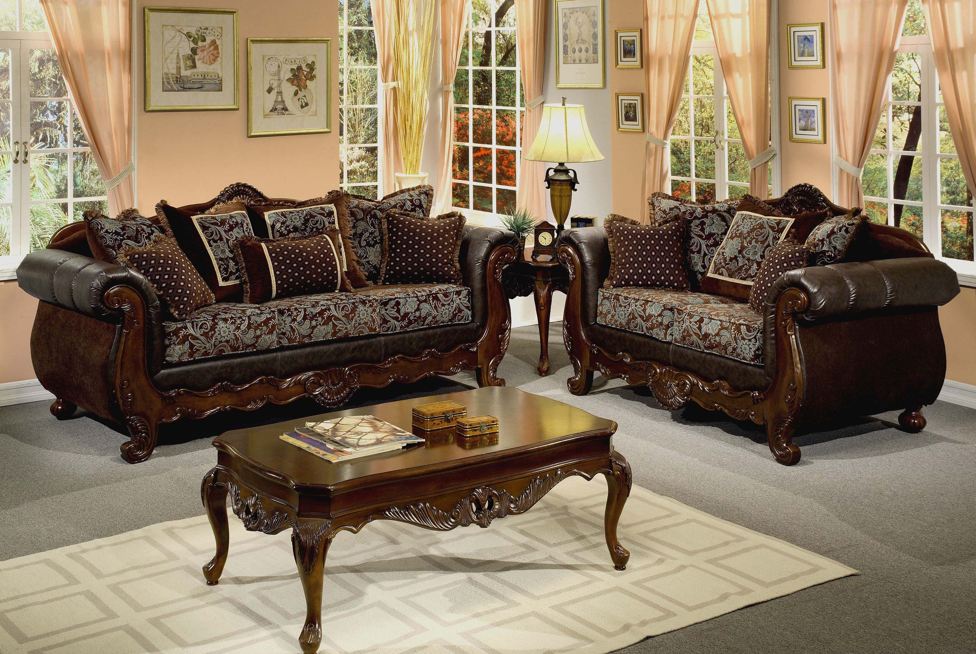 Simple Wooden Sofa Sets For Living Room Price Home Combo pertaining to 14 Smart Ideas How to Improve Wood Living Room Set
