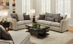 Stewart Linen Sofa And Love with 11 Smart Designs of How to Improve Living Room Set Prices