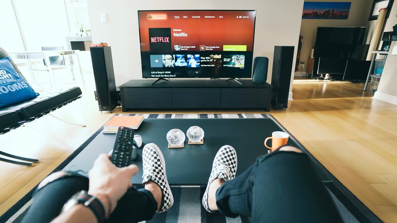 Ultimate 4k Tv Setup 2018 Tech Living Room Tour with regard to 10 Clever Ways How to Improve Living Room Set Up