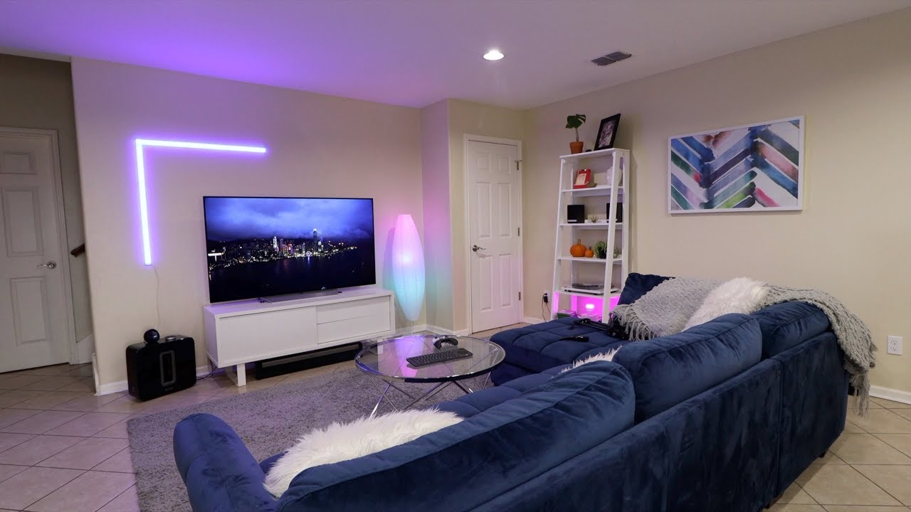 Ultimate Living Room Setup 4k Oled Gaming Tv in How To Set Up A Living Room