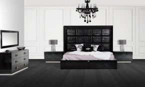 Victoria Black Crocodile Bedroom Set throughout 10 Awesome Initiatives of How to Make Modern Bedroom Collections