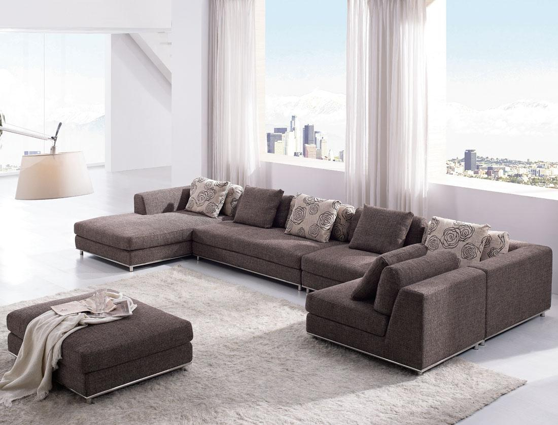 Design Living Room Brown Sofa With Modern For Colors Color for 11 Awesome Tricks of How to Improve Modern Living Room Sofa Set