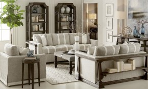 Harrison French Oak Living Room Set throughout Wooden Living Room Sets