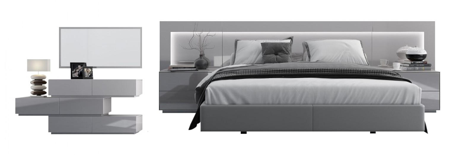 Levanto Modern Bedroom Set With Lighting for 10 Awesome Designs of How to Makeover Modern Bedroom Sets Sale