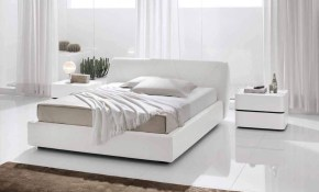 Made In Italy Leather Bedroom Design With Extra Storage intended for Modern Leather Bedroom Sets