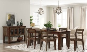 Modern Sierra Solid Wood 8 Piece Dining Room Set pertaining to 8 Piece Living Room Set