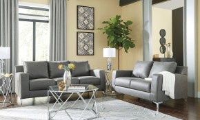 Ryler Charcoal Living Room Set with regard to Affordable Living Room Set
